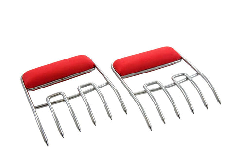 Meat Claws Lifter-Meat Shredder / Pair - Red