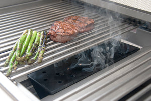 V-Shaped Gas Grill Smoker Box
