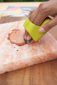 Himalayan Salt Plate Scrubber Brush