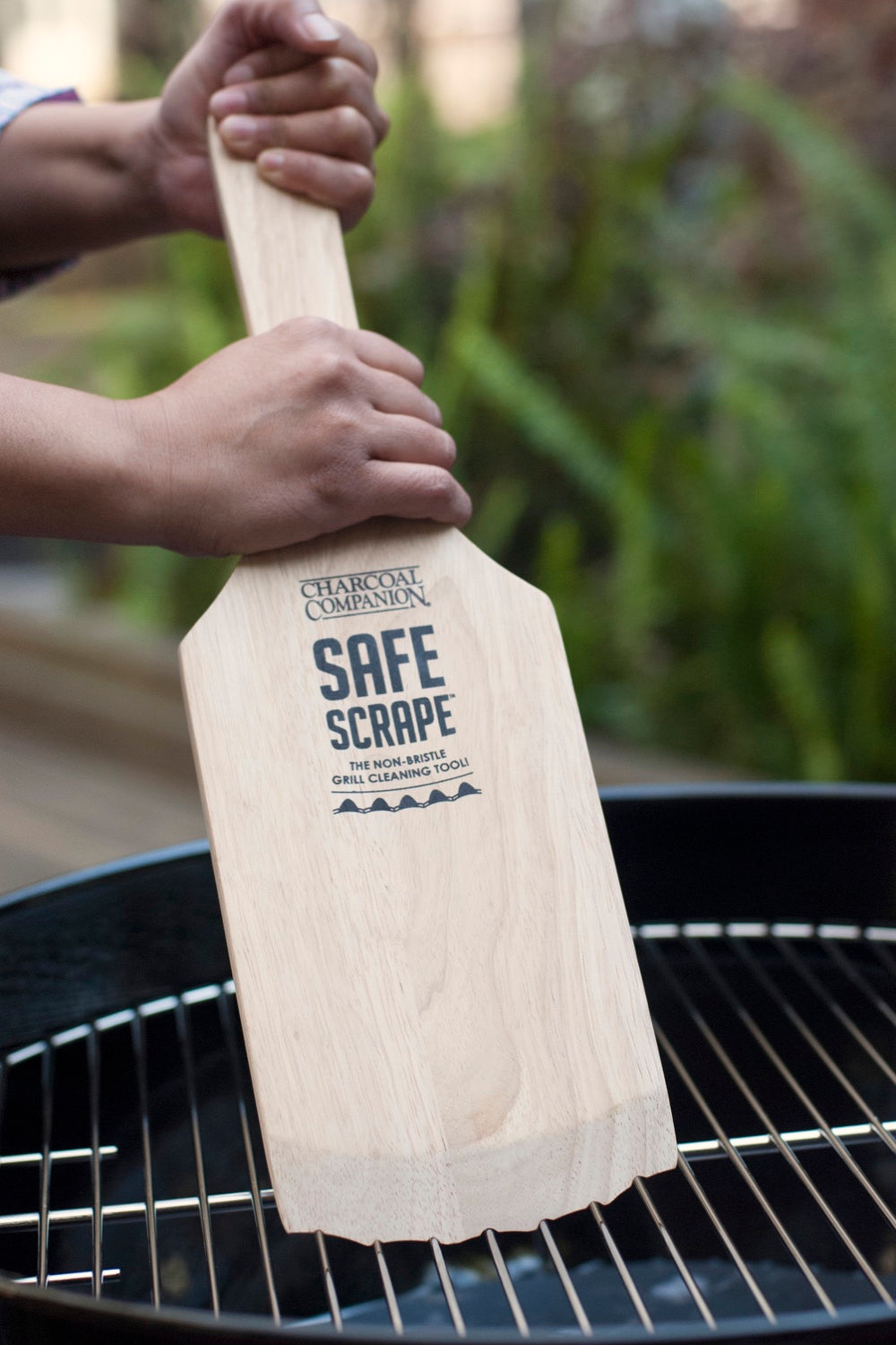 Safe Scrape™ The Non-Bristle Grill Cleaning Tool