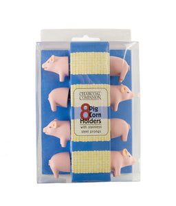 Corn Holders- Pig, 4 Pairs