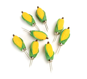 Corn Holders- Mini Corn, 4 Pairs