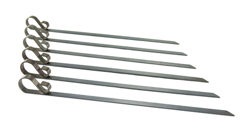 Stainless Steel Flat Skewers