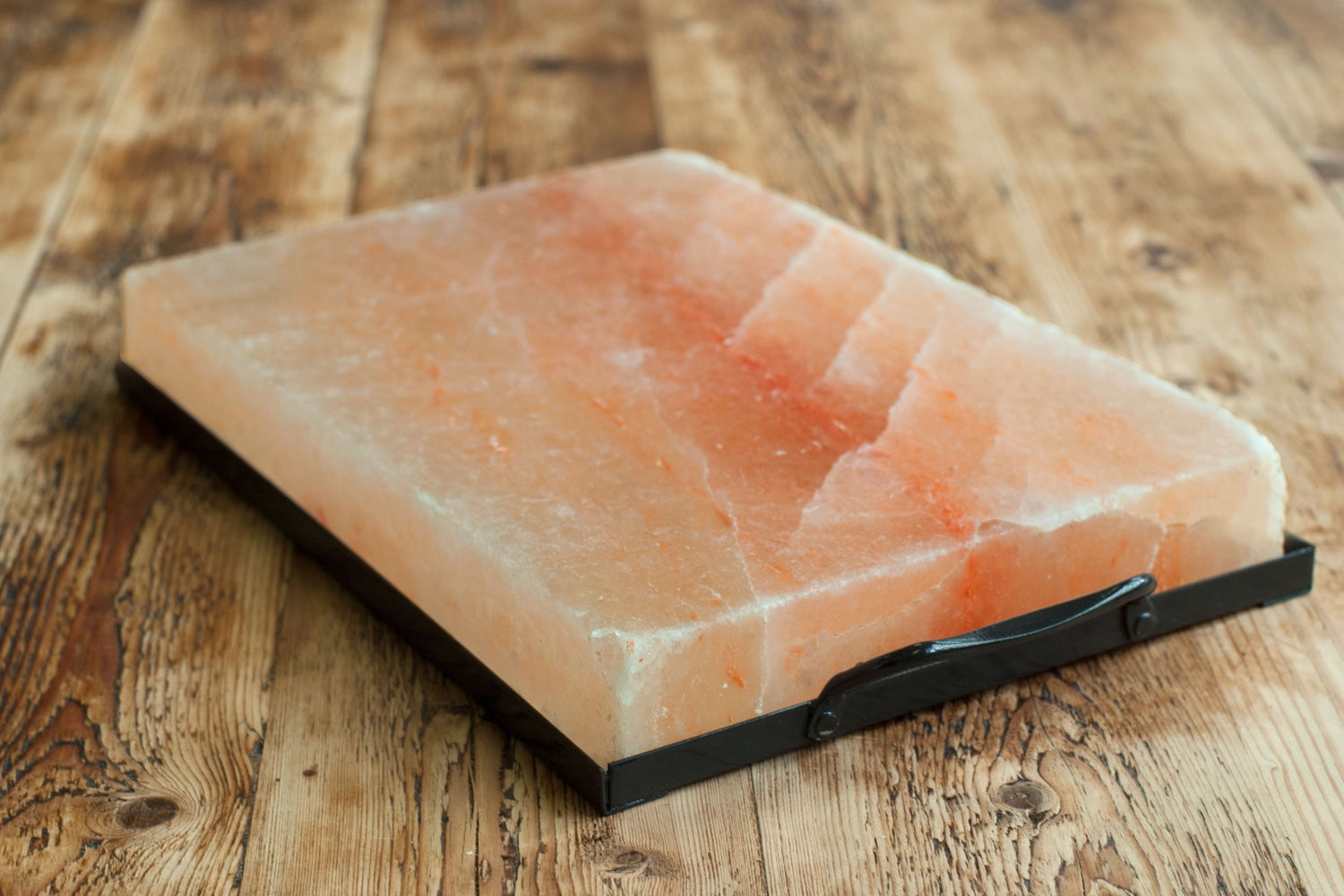 Himalayan Salt, Holder & Book Set / 12in x 8in