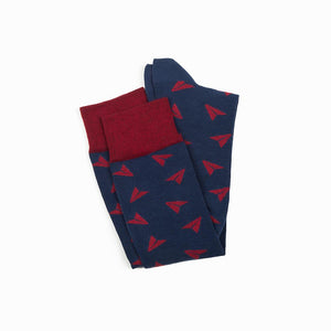 PAPER PLANES HIGH NAVY CRIMSON
