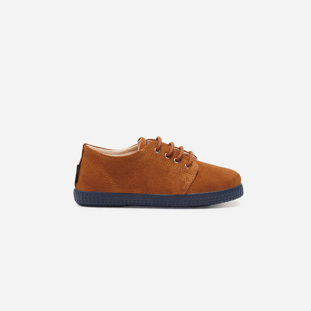 Zapatillas Pompeii Higby Camel Oxford Kids