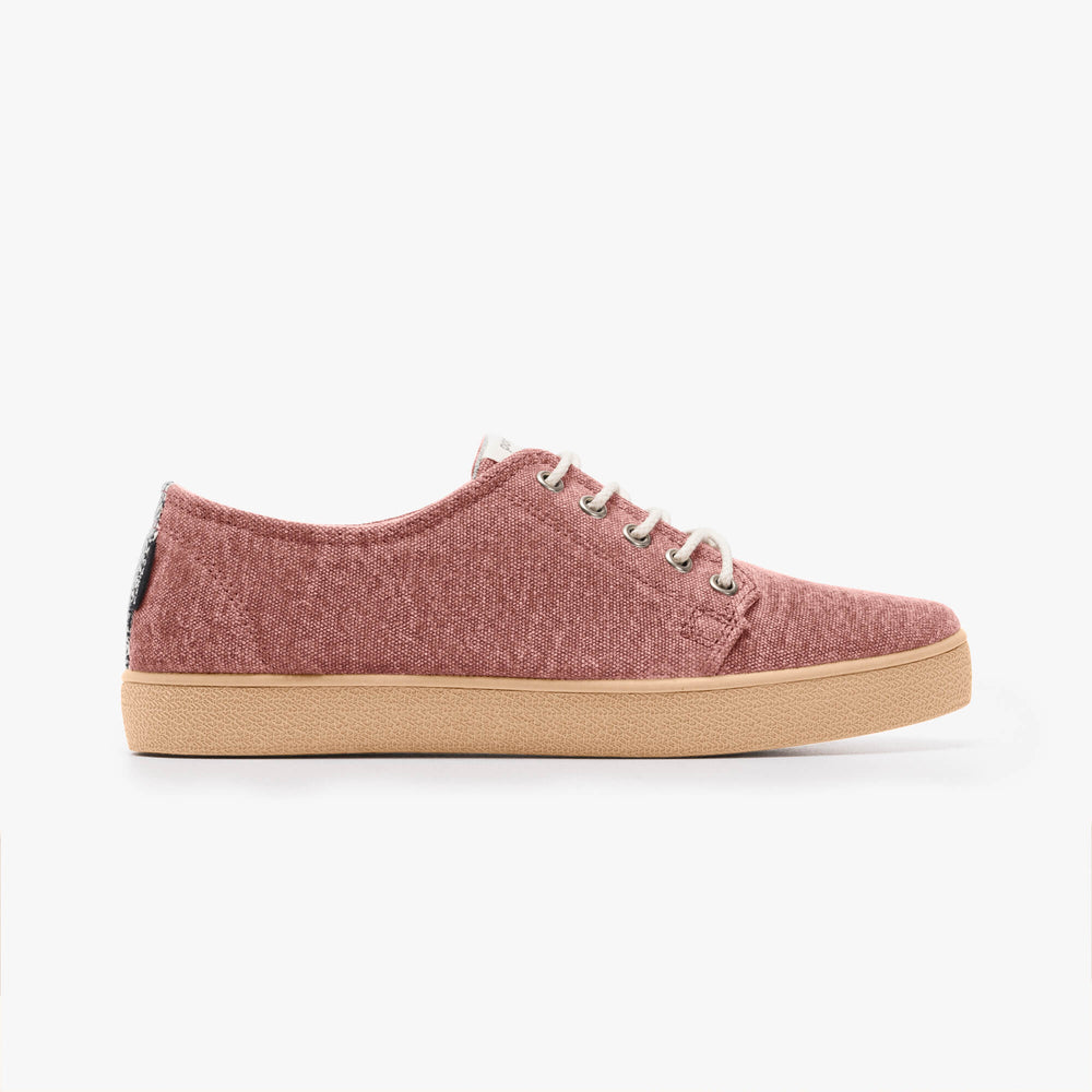 Zapatillas Pompeii Higby Rouge Vegan Woman
