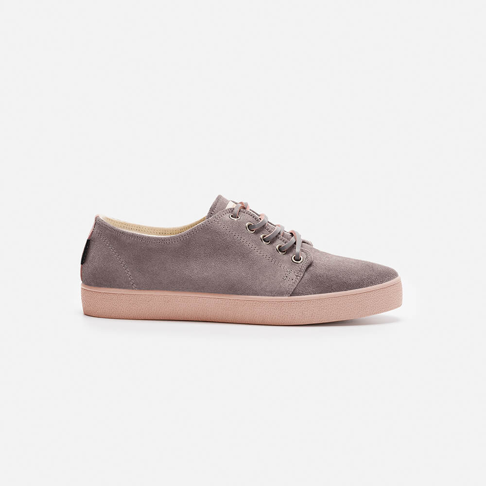 Zapatillas Pompeii Higby Grey Pink Woman