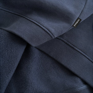 Sweatshirt Zipper Indigo