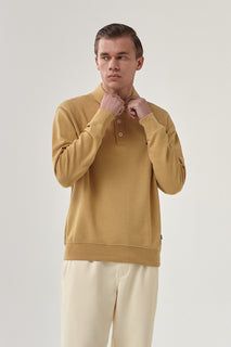 THE DUNE POLO SWEAT