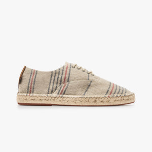 Zapatillas Pompeii Saayi Linen Stripes Man