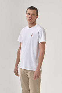 THE L'ANCIENT WHITE TEE