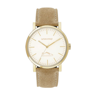 THE POMPEII WATCH BEIGE