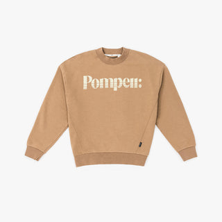 THE CAMEL MOCK NECK SWEAT