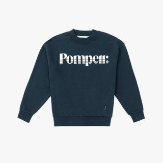 THE NAVY MOCK NECK SWEAT