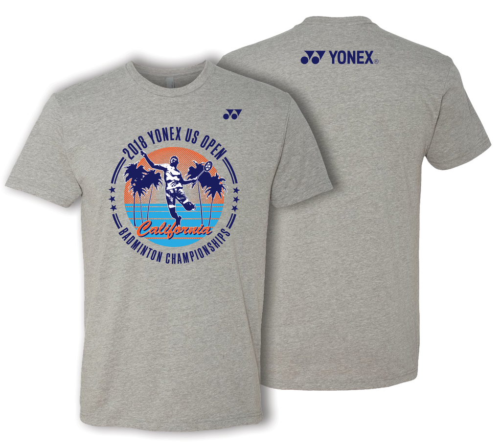 2018 YONEX US OPEN TOURNAMENT T-SHIRT