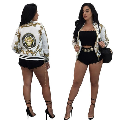 "Ungrounded ""La Chula"" Bomber Jacket"