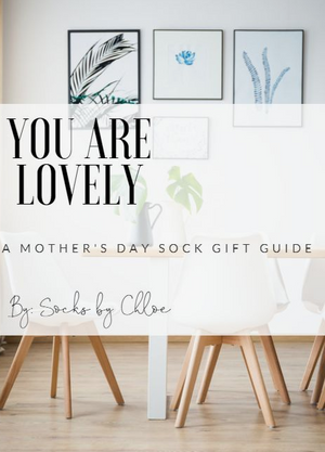 A Mother's Day gift guide by Socks by Chloe