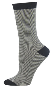 BAMBOO HERRINGBONE SOCKS