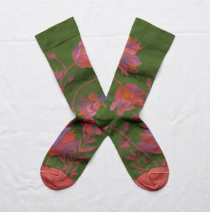 Cactus Flower Socks