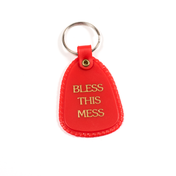 Bless This Mess Key chain