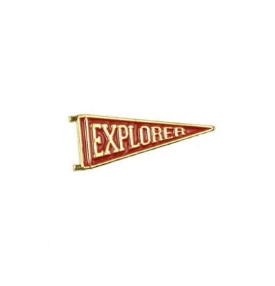Explorer's Press Red pin