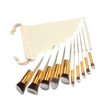 Brush Set with Bag - 10 Piece