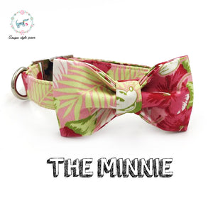 """The Minnie"" Dog Bow Tie Leash Set"