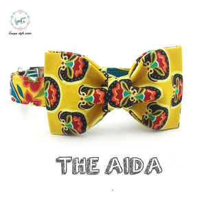"""The Adia"" Dog Bow Tie Leash Set"
