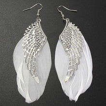 Angel Wing and Feather Earrings