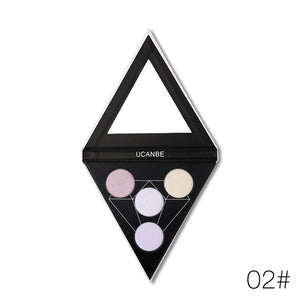 Prismatic Highlight Palette