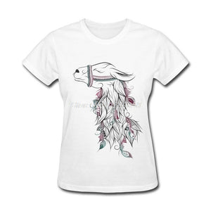 Women's Beautiful Llama T-shirt