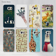 Llama and Giraffe Phone Case - Samsung