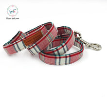 """The Grace"" Dog Bow Tie Leash Set"