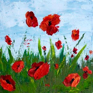 Pallet Knife Painting Class at Trendz by Poppy Ltd