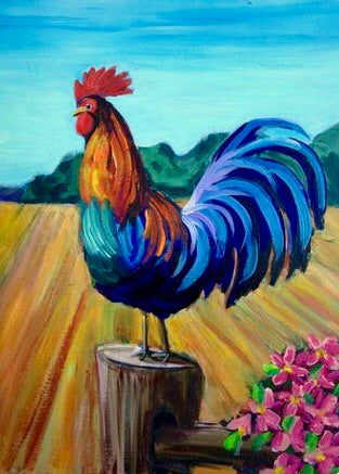 Rooster Painting Party Make & Take