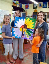 Mommy + Me Flower Painting Party Make & Take