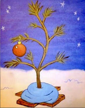 Charlie Brown Christmas Tree Painting Party Make & Take