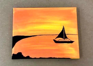 Sunset Sail Painting Party Make & Take