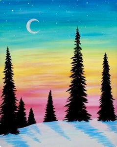 Crescent Moon Painting Party Make & Take