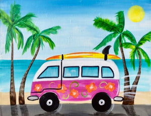 Volkswagen Microbus Painting Party Make & Take