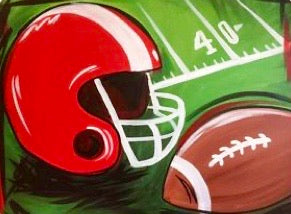 Paint Your Favorite Teams Colors Painting Party Make & Take