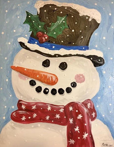 Snowman Painting Party Make & Take