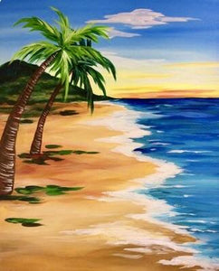 Beach Walking Painting Party Make & Take
