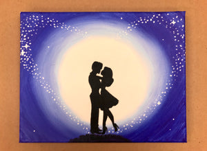 Midnight Kiss Painting Party Make & Take
