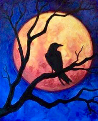 Raven Painting Party Make & Take