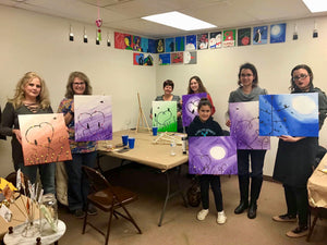 Owl Painting Party Make & Take