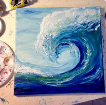 Wave Painting Party Make & Take