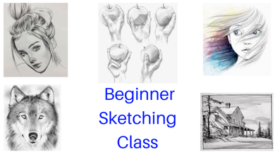 Beginner Sketching Class Party Make & Take