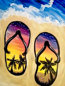 Flip-flop Painting Party Make & Take